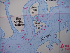 Norris Lake Tennessee Map.Norrislakeinfo Com Norris Lake Topographical Maps Lake Maps Map