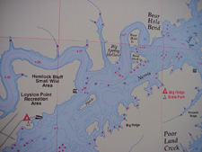 NorrisLakeInfoCom Norris Lake topographical maps Lake Maps Map